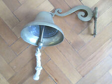 LARGE SOLID BRASS BELL