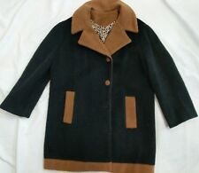 Original Loden Made in Italy for Suburban Intl Wool Mohair Coat Size 12 Buttons