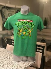 76a0d20208d Teenage Mutant Ninja Turtles Animated Cartoon T-Shirt TMNT All Characters
