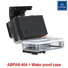 ABPAK-404 Battery BacPac + Waterproof Touch Case For GoPro HD Hero 3+/4 Camera