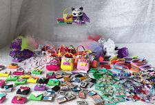 Littlest Pet Shop LPS RANDOM Lot of 14  Lets Go SHOPPING Skirt Tote Money Checks