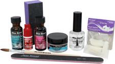 Mia Secret Clear Acrylic Powder 9 Pieces Kit