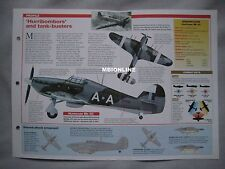 Aircraft of the World Card 41 , Group 10 - Hawker Hurricane Mk II/IV