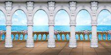 Roman pillars 20'x10' Cp Backdrop Computer printed Scenic Background Zjz-883