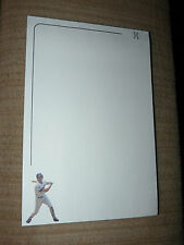 Rare 22 year old 1991 Sport Art Notepad Chicago Cubs RYNE SANDBERG on each page