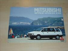 27339) Mitsubishi Space Wagon Prospekt 1987