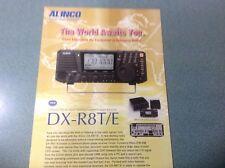 ALINCO DXR8T/E prodotto illustrativo originale
