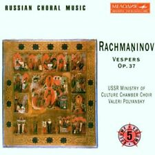 Russian Choral Music, Vol. 5-Rachmaninov: Vespers-USSR Ministry of Culture