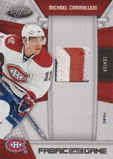 10-11 Certified Fabric Of The Game PRIME xx/25 Made! Michael CAMMALLERI - Habs
