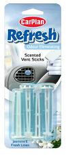 Car Plan Refresh VENT Stick Air Freshener Car Home - JASMINE & FRESH LINEN