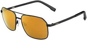 Bolle Navis HD Polarized Sunglasses Black Gold 12577