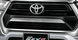 2021 Toyota Hilux Revo Front Radiator Grille Chrome Garnish Sport edition
