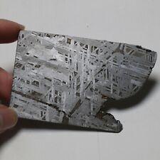 84g  Tranche de météorite , Tranche de partie de météorite Muonionalusta  R5602