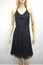 KAY UNGER Designer Black Detailed Chiffon Fancy Dress Size 6 On Sale