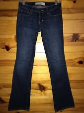 *ABERCROMBIE & FITCH* Women's Juniors THE A&F BOOT Jeans Size 2S W 26 L 31
