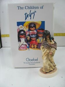 "DeGrazia ""Apache Mother"" Goebel Collectible Figurine #0079 0F 3500 IN BOX"