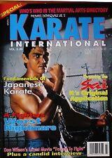 RARE 3/92 KARATE INTERNATIONAL DON WILSON MAS OYAMA BLACK BELT MARTIAL ARTS