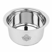 Stainless Steel Induction Friendly Cookware Tope Bhaguna 1.5 Liter Home Use