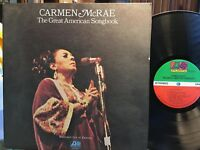 Carmen McRae ~ Great American Songbook | 1972 1st Press | 2 LPs=VG+ | Cover=VG+