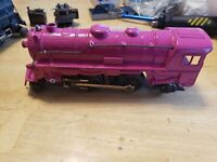 Please read Description Custom painted trains, Marx trains 999 2-4-2 LOCOMOTIVE.