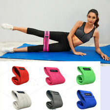 Workout Strength Resistance Loop Bands Gym Yoga Band Hip Training Band 3Pack