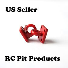 "1/10 RC Rock Crawler/Truck Scale Accessory Pintle Hitch/Hook  Red ""US SELLER"""