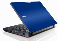 BLUE Vinyl Lid Skin Cover Decal fits Dell Latitude 2100 Laptop