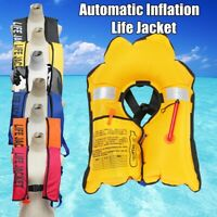 Adult Automatic Inflation Life Jacket Manual Inflatable 150N PFD Survival