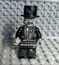 LEGO ZOMBIE MINIFIGURE Top Hat Wedding Groom Halloween Monster Man NEW
