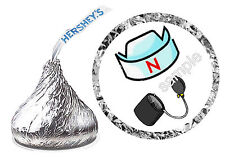 108 NURSE GRADUATION PARTY FAVORS HERSHEY KISS KISSES LABELS