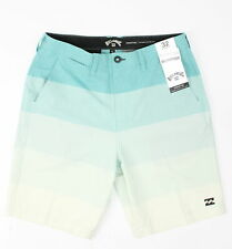 Billabong Mens Crossfire Fade X Hybrid Shorts Dark Mint Combo 32 New