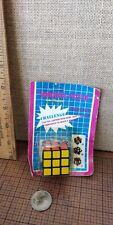 Vintage Wonderful  Puzzler 1980's Rubix Rubik's Cube  - Key Ring