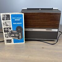 VTG Bell & Howell 456A 8mm Movie Projector Autoload With Manual Needs Bulb READ
