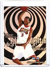 1997-98 NBA Hoops Allen Iverson High Voltage