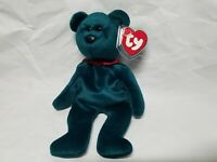 Authentic Ty Beanie Baby Rare Jade New Face NF Teddy 3rd/1st Gen MWNMT!