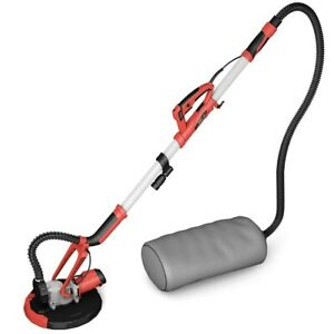 Adjustable Electric Drywall Sander with Vacuum and LED Light