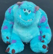 "Sully Monsters Inc Plush Disney Pixar Stuffed Animal Blue Purple Toy Gift 12"""