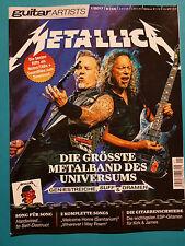 guitar ARTISTS Metallica 1/2017 ungelesen 1a absolut TOP