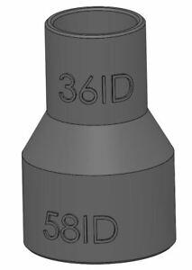Festool midi 2 dust extractor 36ID to 58ID Festool 58mm hose adapter