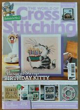 The World of Cross Stitching UK Magazine With Free Gift Issue 294 June 2020
