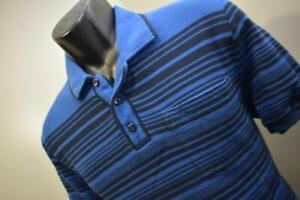 Penguin Munsingwear Golf Polo Heritage Slim Fit Front Pocket Mens Size Medium