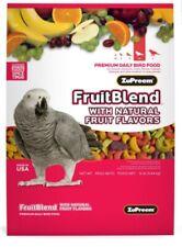 New listing Zupreem fruit blend fruitblend medium large parrot conure pellet 2lb sale