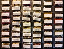 Apothecary Herb Kit - 75 Samples Organic Dried Herbs Wicca Chakra Reiki Healing