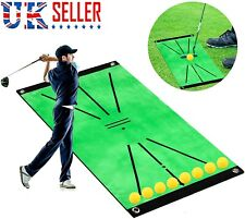 Golf Training Mat Portable Mini Golf Practice Training Aid Game for Swing