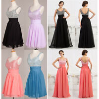 2016 CHEAP Long/short Bridesmaid Formal Gown Party COCKTAIL Evening Prom Dresses