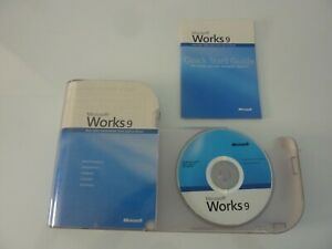 Microsoft Works 9 software for Windows Free Tracked