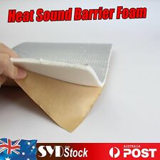 Auto Trunk/Hood Heat Sound Deadener Aluminum Insulation Prevents Thermal 2.6m2