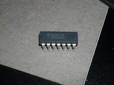 QTY 5  MC34074P MOTOROLA QUAD OP-AMP, 7000uV 14 PIN DIP PACKAGE