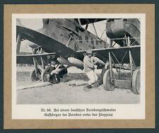 Kaiserliche Fliegertruppe Bombengeschwader Landser Bodenpersonal Luftwaffe 1918