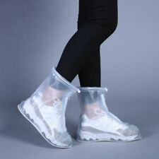 Rain Shoes Boots Covers Solid Waterproof PVC Travel Outdoor Unisex Accessories